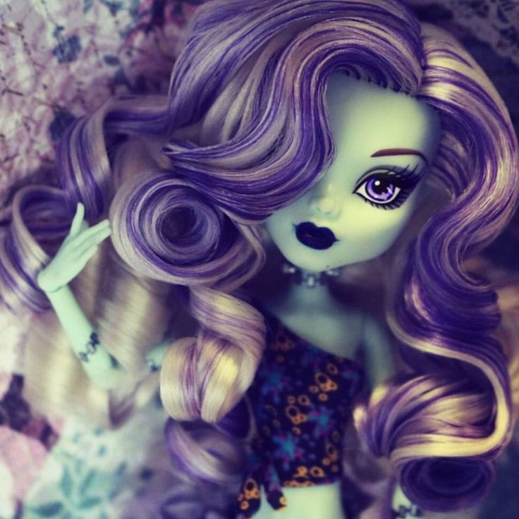 OOAK Monster High Custom Reroot Frankie Doll by Denisa in | eBay