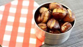 So kannst du zuhause Maronen zubereiten ★ Geröstete Maronen aus dem Ofen: nussig, wärmend und der ideale Snack für den Winter.
