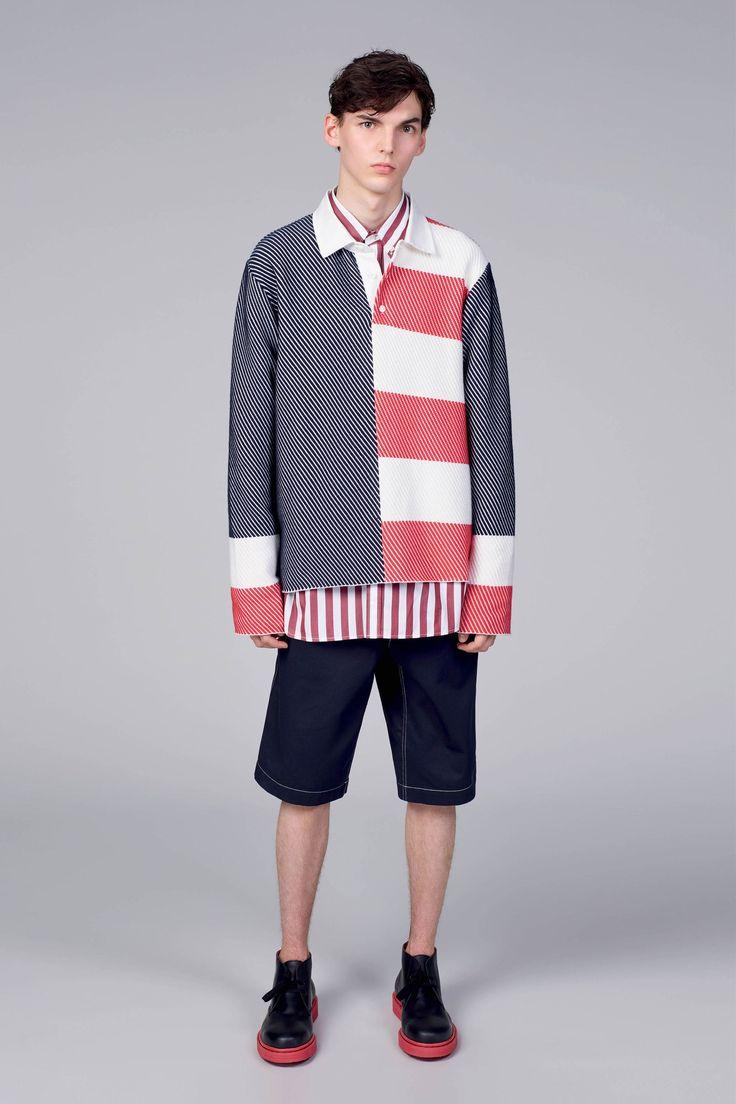 Tommy Hilfiger Spring 2018 Menswear Collection Photos - Vogue 假两件演变