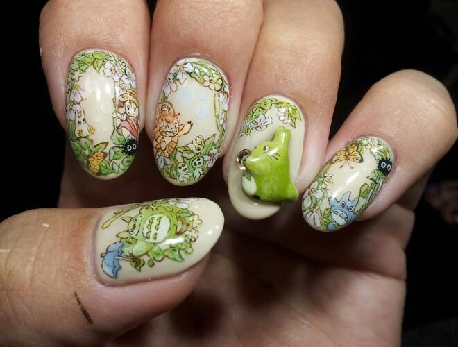 Character Design Nail Art : Images about character nail art on pinterest