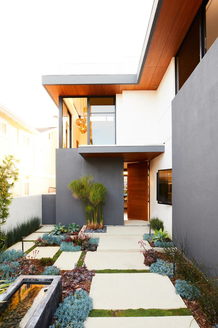 Contemporary two-story house located in Ventura, California, designed by Jette Creative.