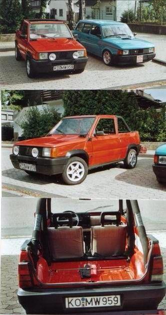 Fiat Panda Cabrio
