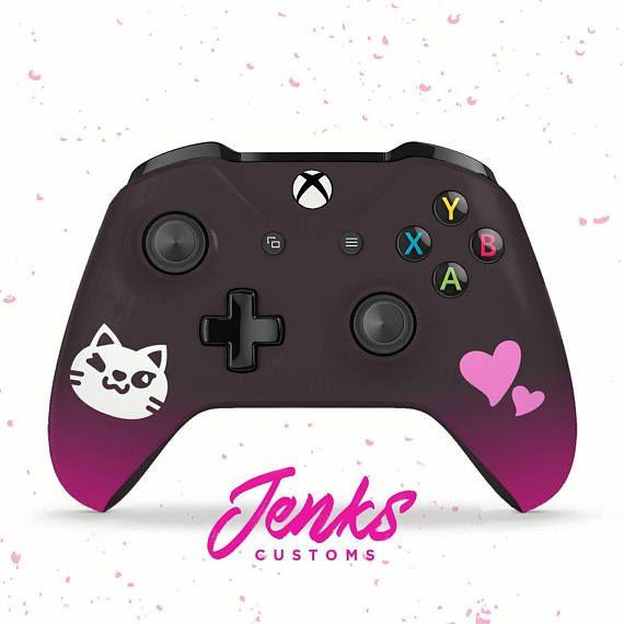 Black Cat D.VA Custom Overwatch Xbox One Controller
