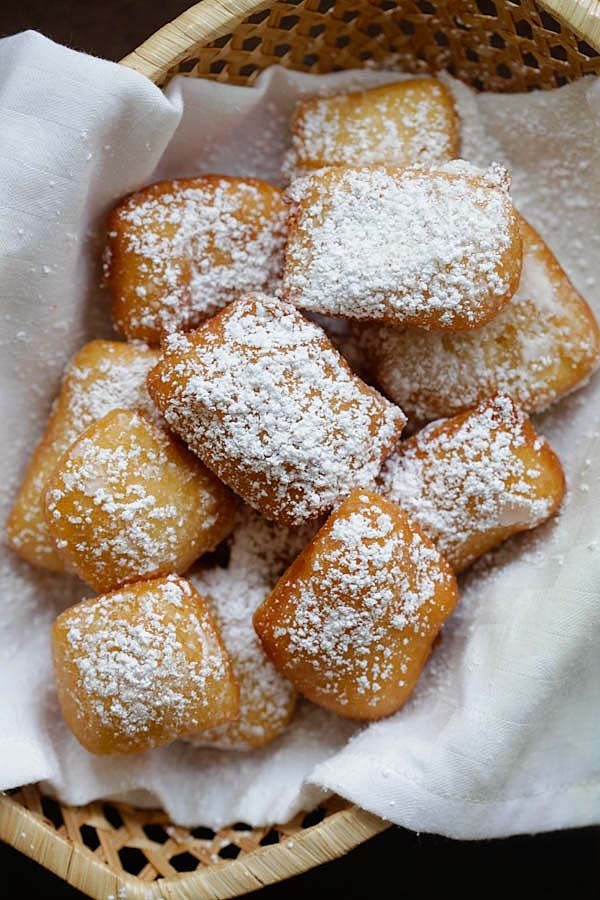New Orleans Beignets - soft, pillowy and the best New Orleans beignets ...