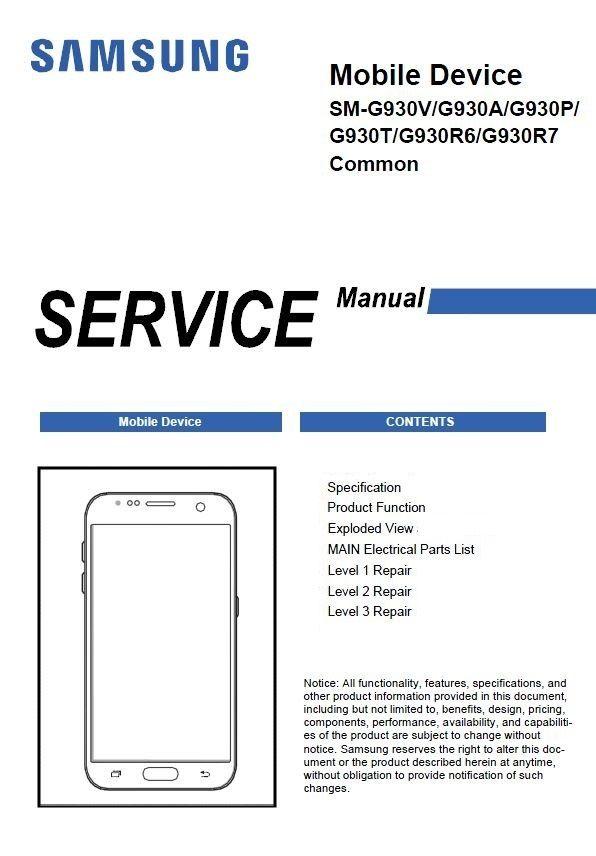 Pin En Samsung Galaxy Service Manuals