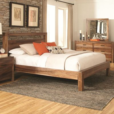 Coaster Furniture Peyton Panel Bed   Light And Rustic, The Coaster Furniture  Peyton Panel Bed Makes A Casual Addition To Any Bedroom It Decorates.