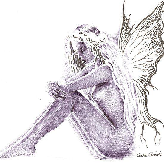 Fairytale fantasy drawing