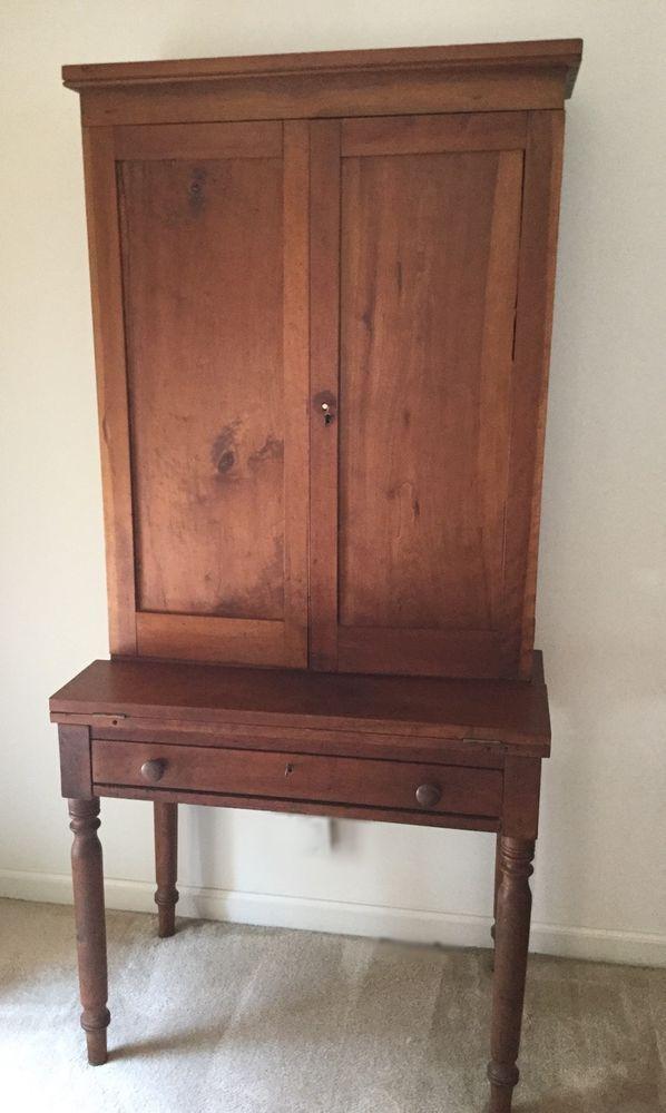 Southern Plantation Desk Circa 1840 Farmhouse Design