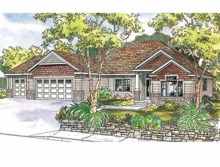 Craftsman House Plan With 2270 Square Feet And 3 Bedrooms