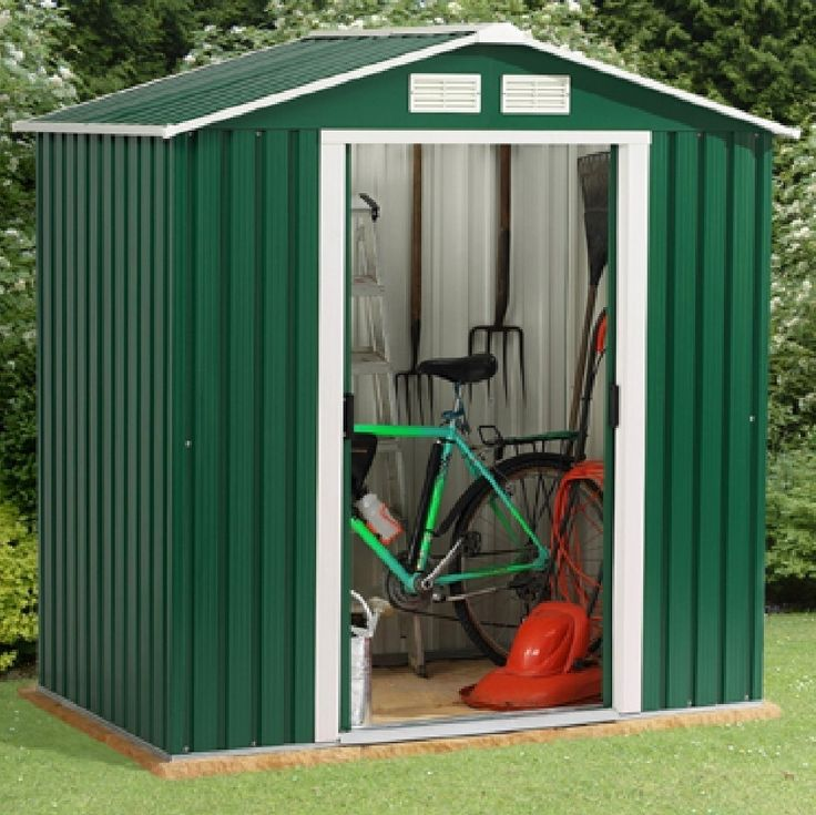 emerald parkdale 6x4 metal shed