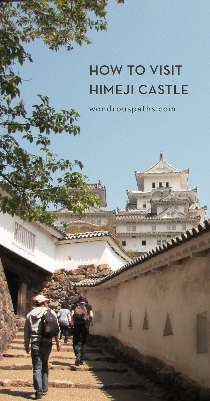 How to take a day trip to visit himeji castle in japan | japan.
