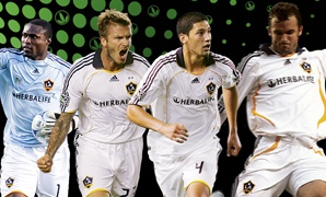 whoo!!!!!!!!!!!! love that David Beckham and the rest of LA Galaxy are on the best nutrition in the world! like me ;)