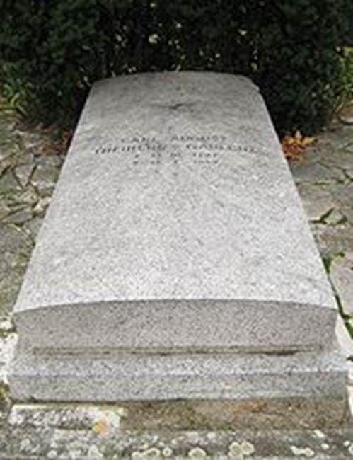 Gablenz, Carl August Heindrich Adolf Freiherr von - WW2 Gravestone