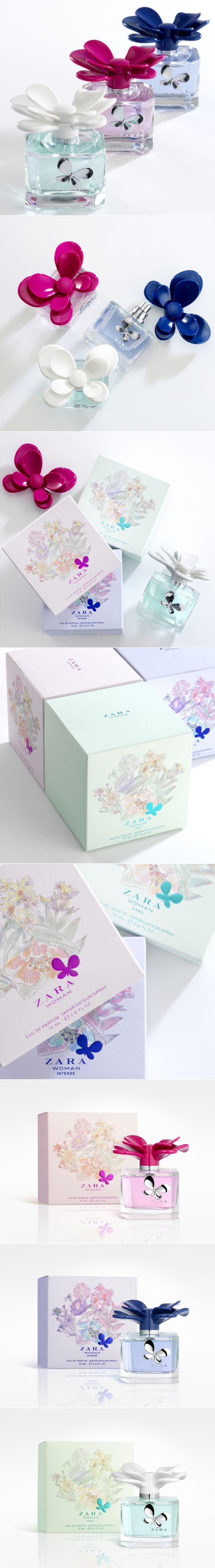 ZARA Woman Perfume — The Dieline | Packaging & Branding Design & Innovation News