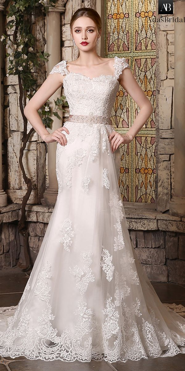 Top rated discount wedding dresses up to off. Stunning Tulle Sweetheart  Neckline Mermaid Wedding Dresses With Lace Appliques 20bb41544