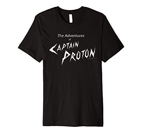 Star Trek Voyager Captain Proton Adventures Premium T-Shirt