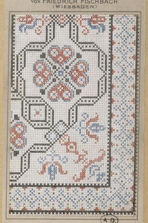Gallery.ru / Фото #88 - старинные ковры и схемы для вышивки - SvetlanN