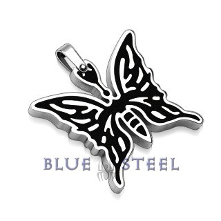 PIN IT TO WIN IT! Black Butterfly: The Black Butterfly brings a sense of beauty along with a powerful image of independence and strength. For women who are beautiful yet fearless and stand for their beliefs. Fly high with your dreams.      $29.99  www.buybluesteel.com