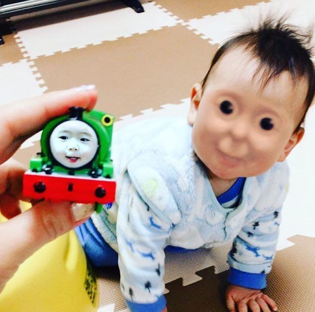 The most horrific face-swap I've ever encountered...