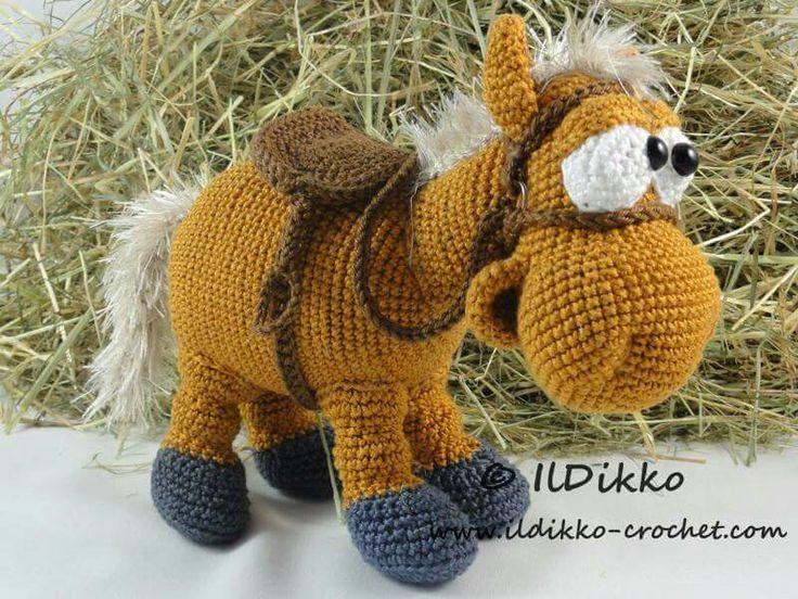 Amigurumis Caballitos A Crochet : Mejores imágenes de caballo amigurumi en caballos