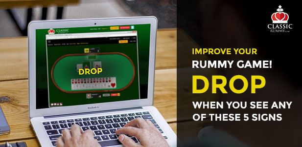 5 Signs To Drop Your Cards While Playing Indian Rummy. #tips #tricks #games #card