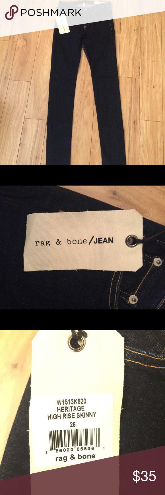 Rag & Bone Heritage High Rise Skinny Jeans Rag & Bone Heritage High Rise Skinny Jeans rag & bone Jeans Skinny