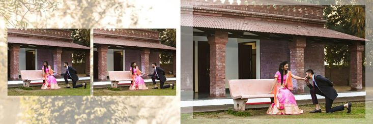 Match your look to your photo and get your pre wedding photographs ASAP.