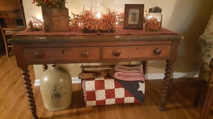 Love this newest treasure! Antique writing table found in Cambridge City,IN during one of our fall jaunts.
