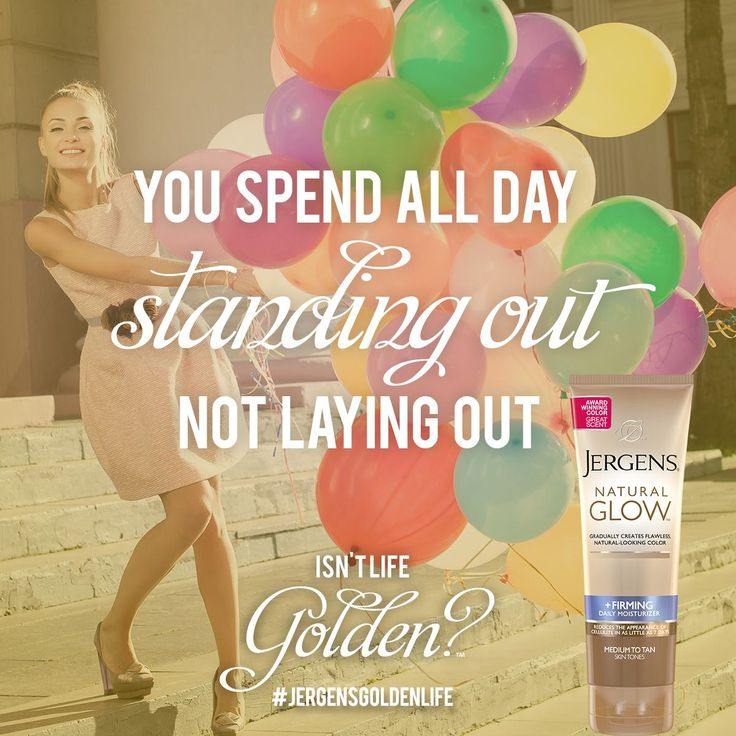 When you live the Golden Life with JERGENS® Natural Glow® Moisturizers, you spend minutes on your tan, and hours rocking it. Enter the JERGENS® Golden Life Sweepstakes for chance to win 1 of 130 Golden Grab Bags filled with dazzling prizes: http://www.jergens.com/golden-life/ #JergensGoldenLife #Sweeps