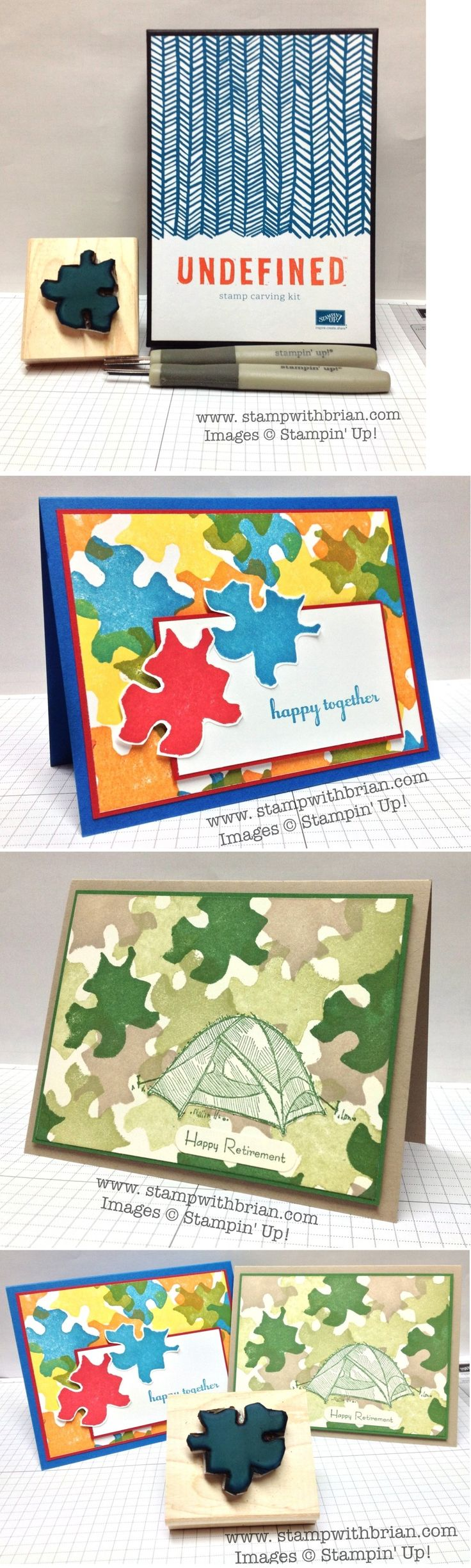 Stampin' Up! Undefined Stamp Carving Kit, Brian King