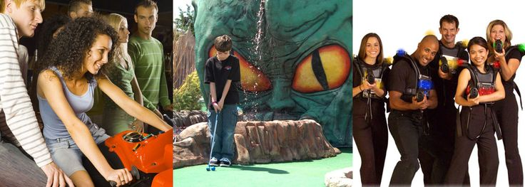 Ocean City MDINDOORS__WINTER  Amusements | Mini Golf | Laser Tag | Planet Maze | Lost Galaxy Golf