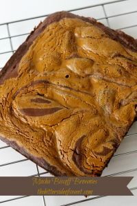 Mocha Biscoff Brownies