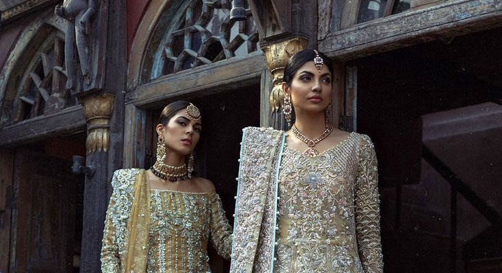 "Saira Shakira's 2018 Bridal Couture Collection ""Artemisia"" Shoot images. The campaign features Sundal Roy & Hira Shah, shot by Abdullah Haris. Designer: Saira Shakira Collection: Artemisia 2018 Bridal Couture Shot by: Abdullah Haris Models: Sundal Roy, Hira Shah Jewellery: Hamna Amir   #Artemisia #Artemisia 2018 Bridal Couture #Bridal Couture Collection #Designer Saira Shakira #Jewellery Hamna Amir #Model Hira Shah #Model Sundal Roy #Saira Shakiras 2018 #Saira Sh"