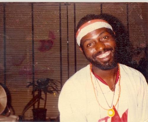 Young Frankie Knuckles.  House music originator.  He made me dance and smile