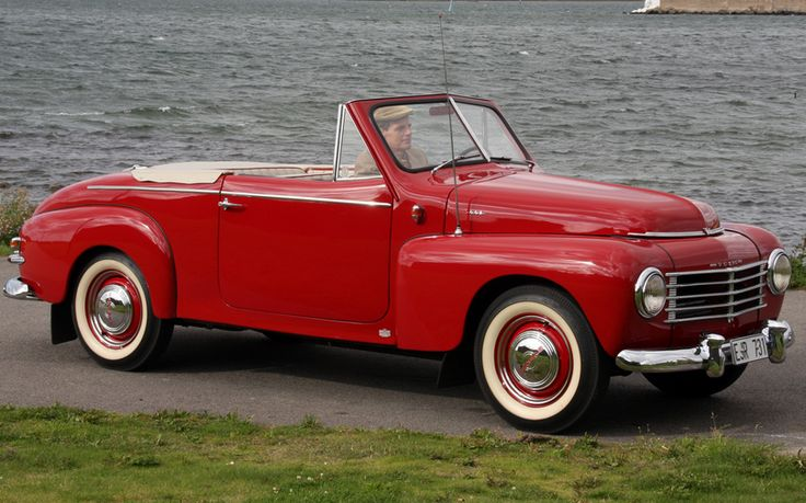 1950 Volvo PV444 445 Cabriolet