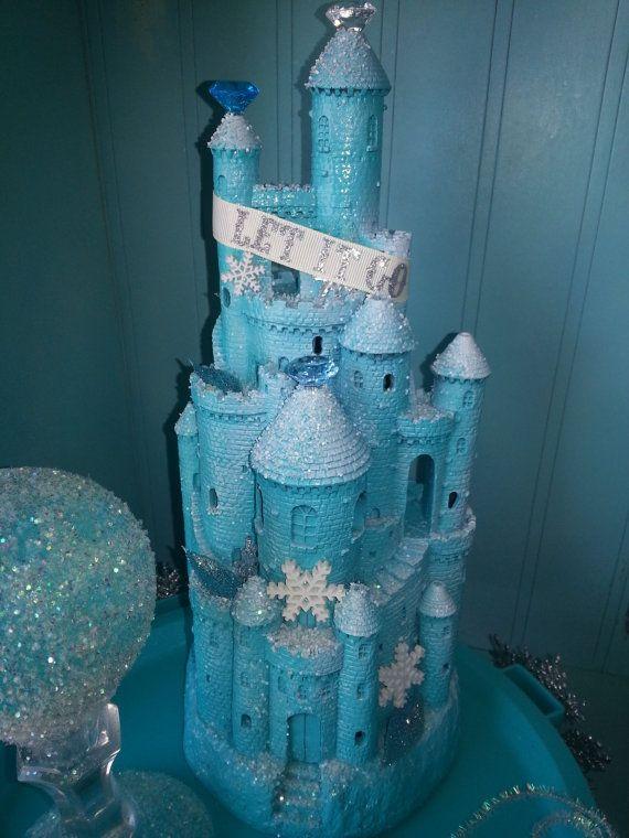 Frozen Inspired Castle Centerpiece Party Disney Disney