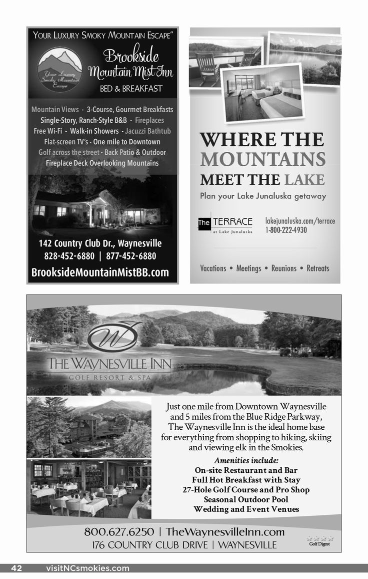 50 best 2016 haywood county visitor guide images on pinterest
