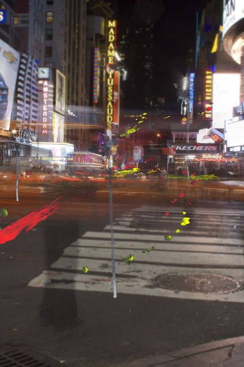 Times Square NYC Nightime
