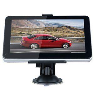 Excelvan GPS Voiture Auto Écran Tactile 7″ Pouces FM Truck Système de Navigation MP3 SAT NAV Navigator 8GB 128M 480*800 Pixel