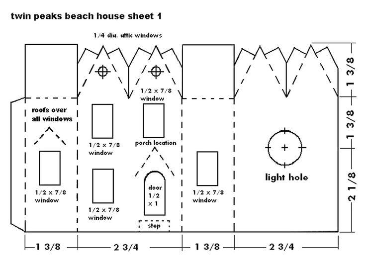 Glitter house patterns build glitterhouses lists many for Printable house plans