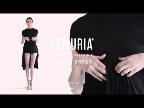 Lemuria - Circle Dress.  #woman #clothing #multifunctional #dress #italy #brand #designclothing #design #italianbrand #boutique #cotton #jersey #lemuria #permanent #collection #dress #overall #convertible #convertibledress #lemuria #lemuriastyle #lemuriaclothing #lemuriadress