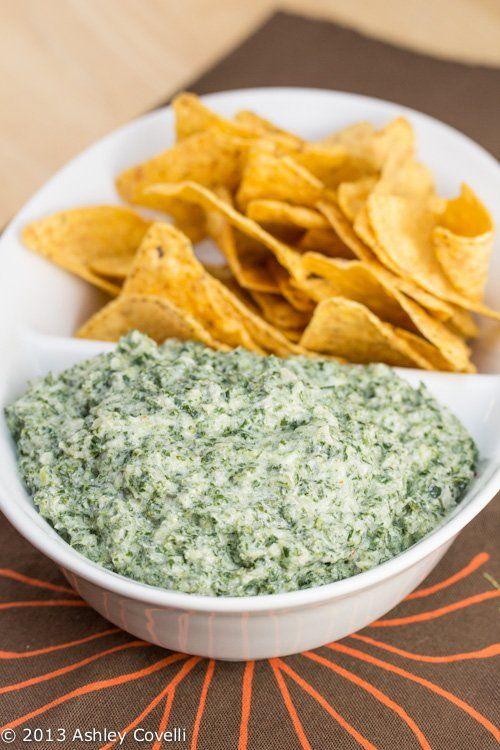 Kale Ricotta Dip- Kale, onion, garlic, ricotta cheese, parmesan cheese, lemon juice, & red pepper flakes.