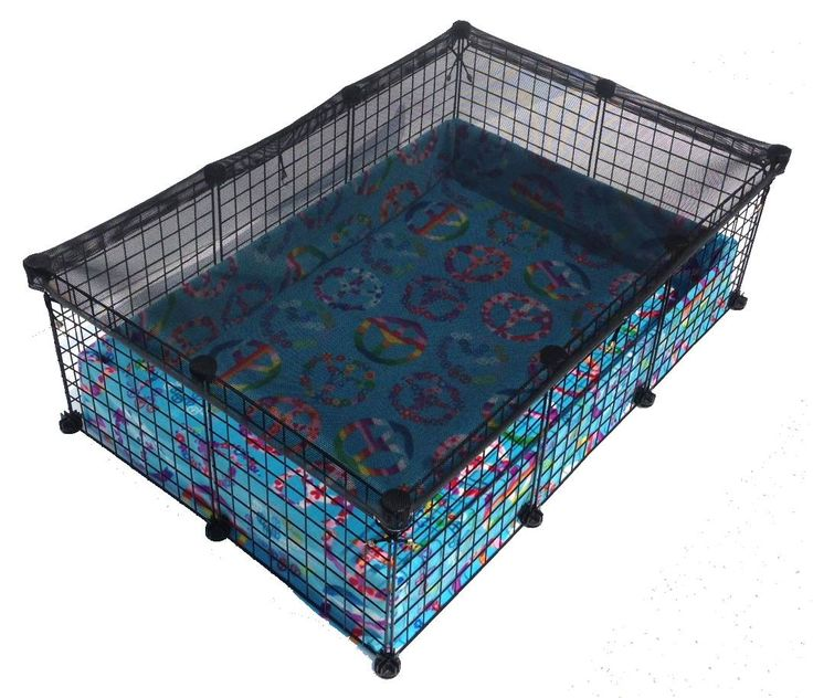 Safe-Pet C&C Cage | PiggyBedSpreads.com – Fleece Cage Bedding Liners for Guinea Pig Cages, C&C Cages, Accessories | Bedding Made Better