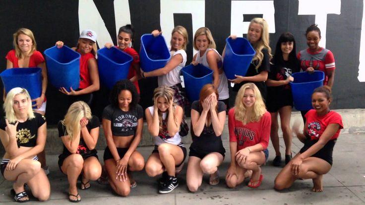 Ice Bucket Challenge: Raptors Dance Pak