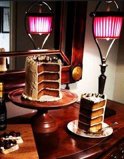 Brown Sugar-Bourbon Cake w/Brown Sugar-Bourbon Buttercream | Ross Sveback