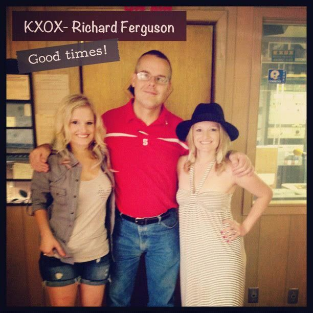 Richard Ferguson is on the air each week day morning from 9AM - 1PM! News, sports, music, Pet Patrol, Swap Shop, financial reports, Pro Rodeo Round-up, and the Alphabet Soup Kitchen are in his show and its all right here only on KXOX!