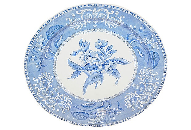 $99.00  $200.00 Estimated Market Value    Era: Vintage  Condition: Excellent  Spode Camilla Blue