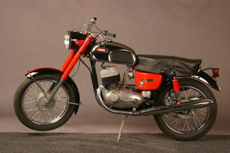 1966 Jawa 350 Californian motocycle
