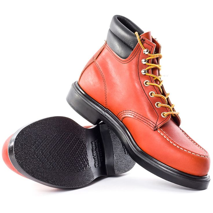 Red Wing Classic Moc 8804 Mens Boots in Rust