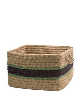 57% OFF Colonial Mills Garden Band Rectangular Basket (Eggplant/Moss)